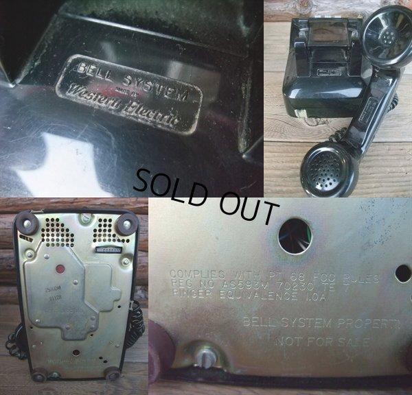 画像3: 70s Vintage Telephone / Black (AC-823)