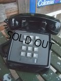70s Vintage Telephone / Black (AC-823)