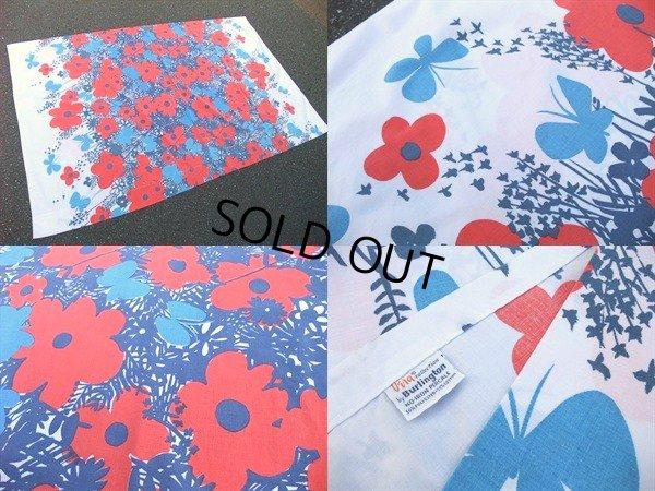 画像2: Vintage Fabric / Flower #24 (AC-956)
