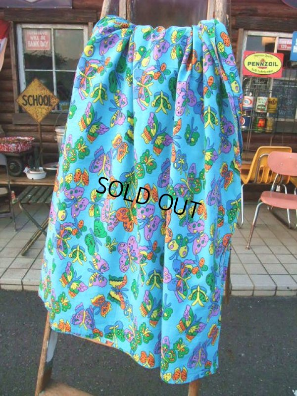 画像1: Vintage Fabric / Butterfly (AC-958)