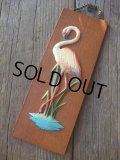 60s flamingo Wall Decor  (AC-948)