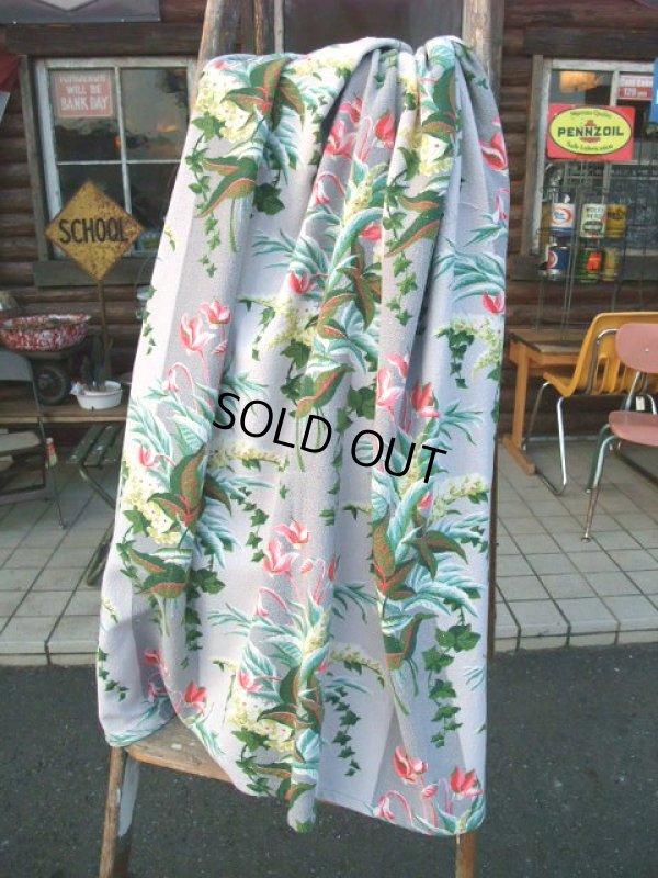 画像1: Vintage Fabric / Flower #19 (AC-953)