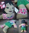 画像2: C & H Rag Doll - Girl (AC-963) (2)