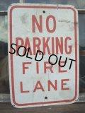 Vintage ROAD Sign / NO PARKING  (AC-1004)