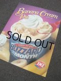 00's Dairy Queen Poster Sign / STORE DISPLAY #1 (AC1192)