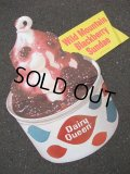 60's Dairy Queen Poster Sign / STORE DISPLAY #7 (AC1188)