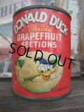 Vintage Donald Duck GFS Tin Can (NK-022)