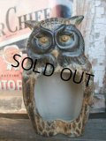 Vintage Owl Ceramic Ashtray (NR-303)