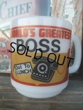 Glassbeke WORLD'S GREATEST BOSS Mug (NR-329)