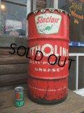 Vintage Drum SINCLAIR 120 lb Oil Can (NK-146)