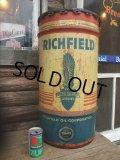 Vintage Drum RICHFIELD 115 lb Oil Can (NK-148)