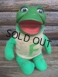 70s Vintage Rushton NZR Freddie the Frog Doll (NK-256)