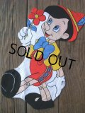 Pinocchio Vintage Fabric Pillow Cushion Panel (NK-347)