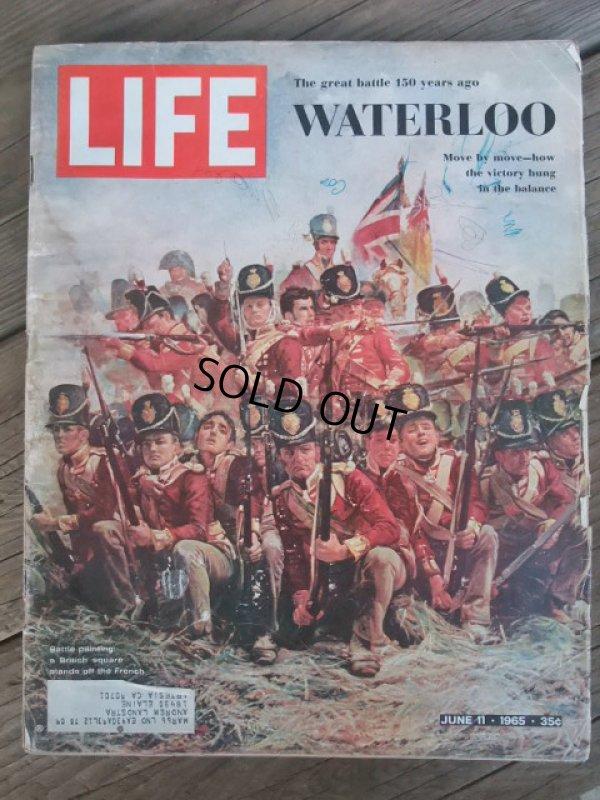 画像1: 60s Vintage LIFE Magazine / Jun 11,1965 (NK-455)