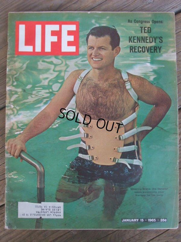画像1: 60s Vintage LIFE Magazine / Jan 15,1965 (NK-452)