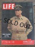 50s Vintage LIFE Magazine / Sep 11,1950 (NK-451)