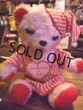 Vintage Bedtime Bear Plush Doll (NK-444)