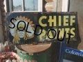 Vintage CHIEF PAINTS Metal Sign (NK-467)