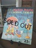 60s Vintage Disney School Tablet (NK-479)