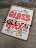 Vintage GLASS WAX Advertising Poster (NK-563)