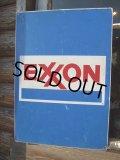 Vintage Store Sign / EXXON (NK597)