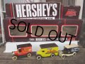 80s Vintage Hershey's Mini Car Gift Set W/box (AC200)