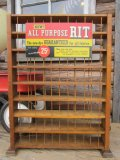 Vintage Rit Display Shelf Rack (PJ142)
