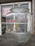 Vintage LANCE Glass Jar (PJ143)