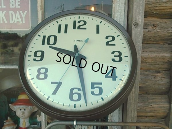 画像1: Vintage TIMEX Wall Clock (PJ197)