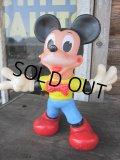 Vintage Mickey Rubber Doll / Ledraplastic (PJ269)