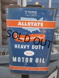 Vintage Sears ALL STATE 10Quarts Moter Oil Can (NR124)