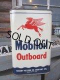 Vintage Mobil Oil Can #031 (PJ302)
