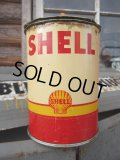 Vintage Shell Oil Can #011 (PJ300)