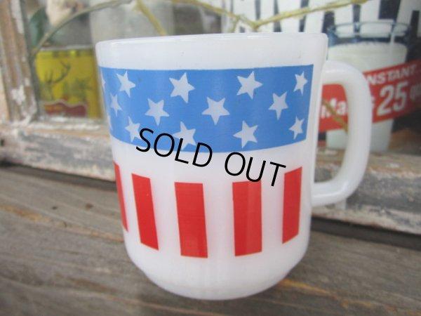 画像1: American Flag Milk Mug (PJ309)