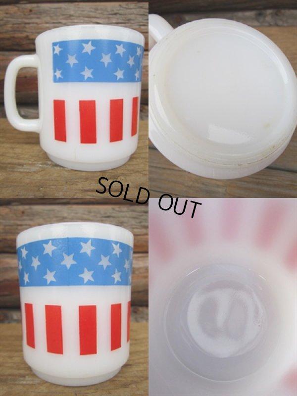 画像2: American Flag Milk Mug (PJ309)