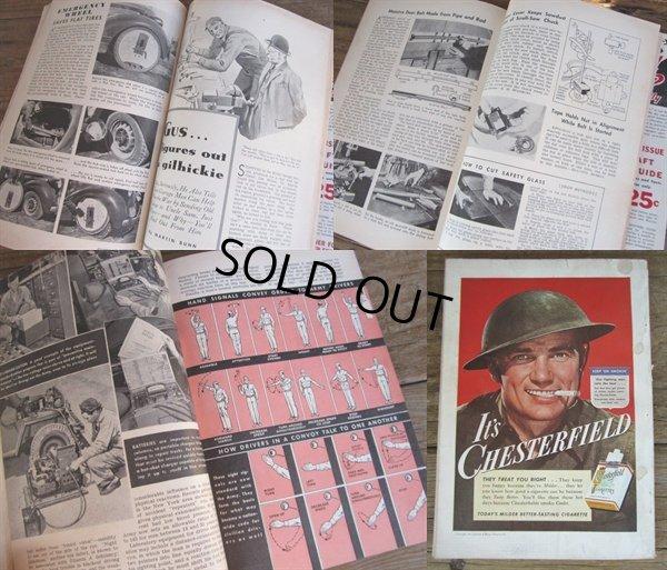 画像2: 40s Vintage Popular Science Magazine / VOL 141 NO 2 Aug 1942  (PJ350)
