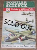 40s Vintage Popular Science Magazine / VOL 140 NO 2 Feb 1942  (PJ349)