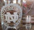 画像2: Vintage Glass / Notre Dame University (PJ537) (2)
