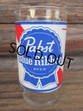 Vintage Glass / Pabst Blue Ribbon Beer (PJ540)
