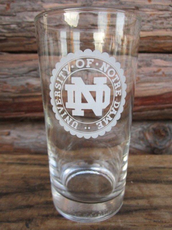 画像1: Vintage Glass / Notre Dame University (PJ537)