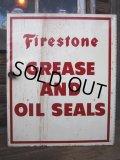 Vintage Firestone Metal Cabinet (PJ568)