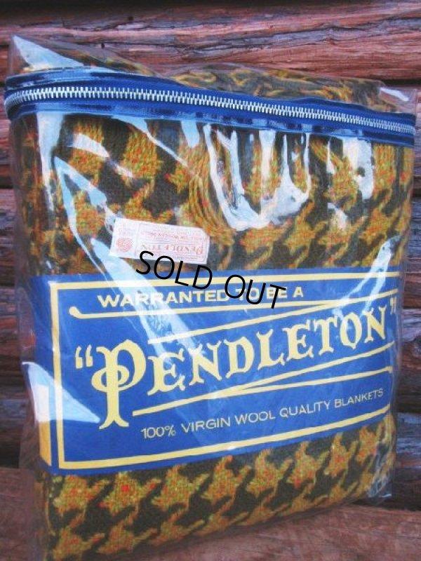 画像1: Vintage Pendleton Blanket (PJ587)