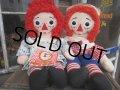 Vintage Raggedy Anne&Andy / Rug Doll Set #C (PJ600)