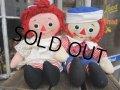Vintage Raggedy Anne&Andy / Rug Doll Set #B (PJ599)