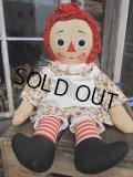 Vintage Raggedy Anne / Rug Doll 49cm (PJ593)