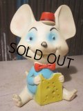 Vintage Rubber Doll Yummy Mouse (PJ651)