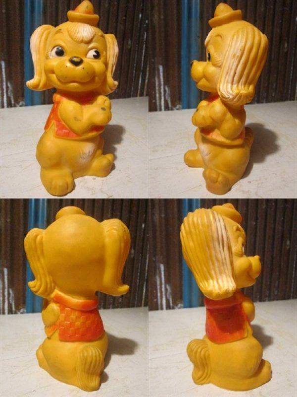 画像2: Vintage Rubber Doll ChinChin Dog (PJ654)