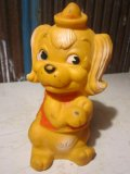Vintage Rubber Doll ChinChin Dog (PJ654)
