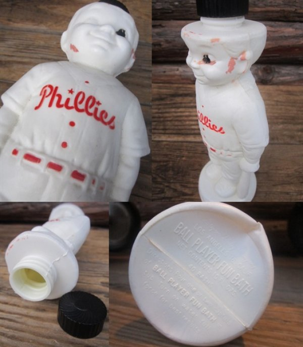 画像3: Vintage Phillies Ball Player Fun Bath (PJ668)