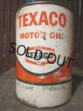 SALE Vintage Texaco Quart Can Motor Gas/Oil (PJ699)
